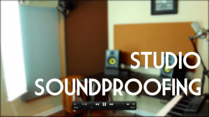 Inside my studio: soundproofing [video]