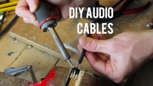 Have you considered DIY audio cables?