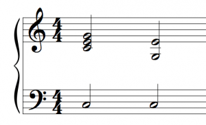 Re-voicing your chords like this example gives clarity and more impact per note.