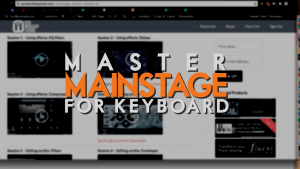 How you can become a Mainstage keyboard master