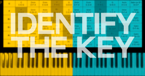 How to identify the key of a song