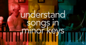 Two ways to understand minor songs