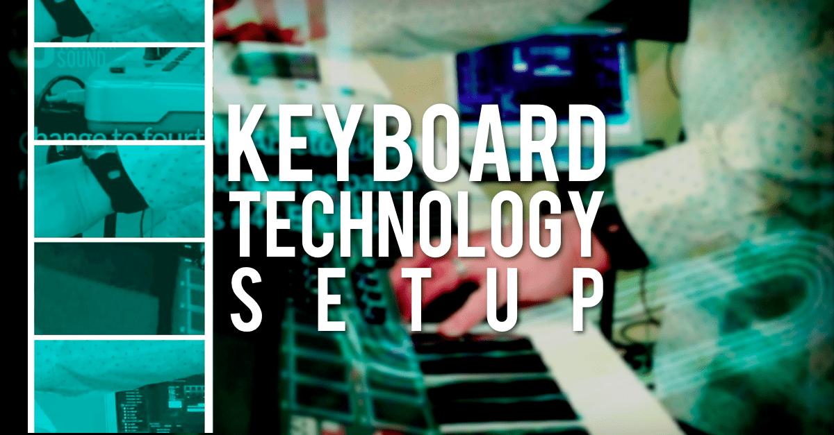 Keyboard technology setup - Mainstage and Ableton - OurWorshipSound