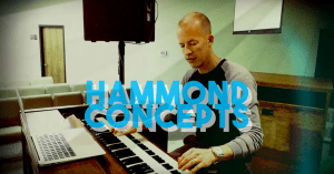 Hammond organ concepts for worship keyboard