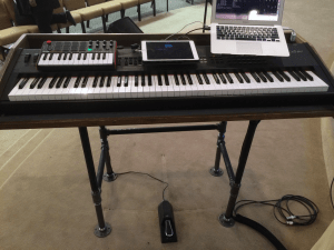 DIY keyboard stand to simplify my rig - OurWorshipSound