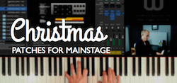 christmas patches for mainstage