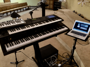 previous keyboard rig